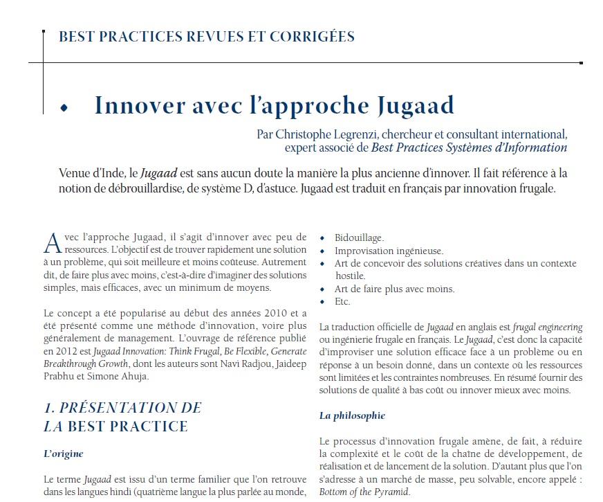 Innovation Jugaad