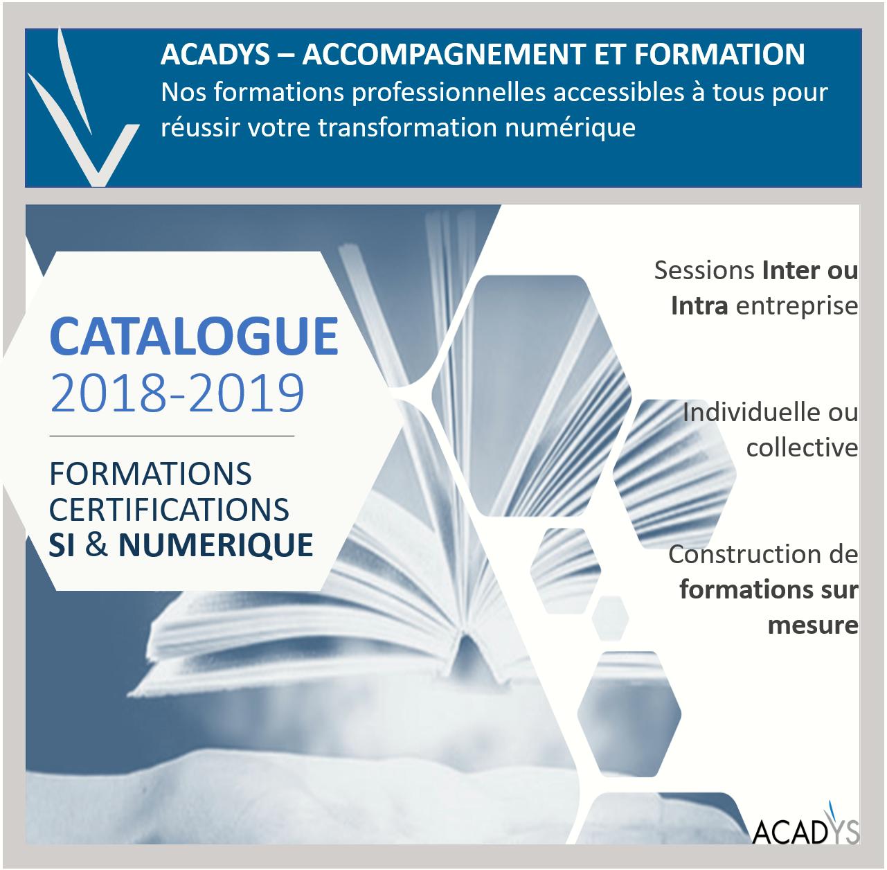 Catalogue Formation 2018-2019